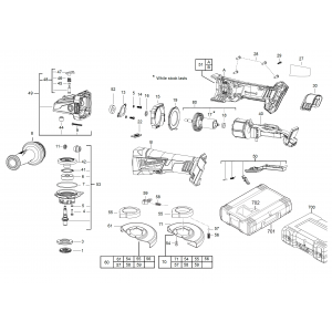 Milwaukee M18CAG125XPDB (M18CAG125XPDB-RO)